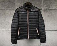 melhores jaquetas de inverno da marca venda por atacado-Nova Marca anorak homens primavera outono jaqueta homens jaqueta fina inverno melhor qualidade homem quente para baixo jaqueta e parka casaco anorak M115