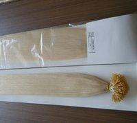 ingrosso vendita dei capelli umani biondi-IN VENDITA Stock 100g 18
