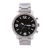 Wholesale Cheap Glasses Straps - Foss Luxury Brand Big Dial Sport Men Women Fashion Watch Clock Casual Quartz Movement Steel Strap Wristwatch Wholesale Cheap Price