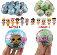 Wholesale Dresses For Years Girl - LQL SURPRISE DOLL Series 1 2 Random Colors Doll Dress Toy Surprise Eggs Kids Toys For Children Christmas Gifts WITHOUT BOX