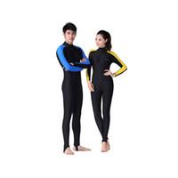 Wholesale Diving Swimwear - New Women&Men Lycra Dive Skin for Scuba Diving Snorkeling and Water Sports Jumpsuit Swimwear Wetsuit Wholesale