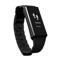 pantalla de pulsera bluetooth al por mayor-Smart Wristband Z3 Pulsera Bluetooth SOLED Screen Touch Key Fitness Rastreador Salud Sleep Monitor Reloj inteligente Pulsera deportiva Frecuencia cardíaca