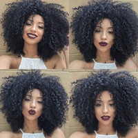 Wholesale Indian Curly Hair For Sell - Hot Sell 4a,4b,4c Brazilian kinky curly Clip In human Hair Extensions Full Head natural color G-EASY clips for african american hair