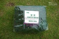 ingrosso green moss-Artificiale muschio verde muschio piante decorative vaso di erba sintetica artificiale Accessori per fiori per fornitura vaso di fiori decorazioni