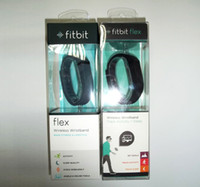 pulsera flexible al por mayor-Fitbit Flex Wristband actividad inalámbrica Sleep Sports fitness rastreador smartband para IOS Android pulsera reloj inteligente gratis