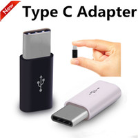 Wholesale Female Cable Connectors - New USB 3.1 Type-C Male to Micro USB Female Converter Connector USB-C Adapter For Mackbook Oneplus 2