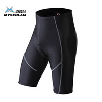 Wholesale Underwea Man - Wholesale-MYSENLAN High Quality Brand Cycling Shorts Outdoor Sports Bicycle Comfortable Breathable Underwea Tight Shorts Ciclismo