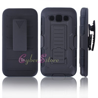 Wholesale E5 Phones - For Samsung A3 A5 A7 Future Armor Impact Hybrid Hard Phone Case Cover with Belt Clip for Galaxy E5 A310 A510 A5 2017