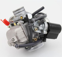 Wholesale Gy6 Scooter Carburetor - GY6 or GY6 Clone engine 26mm Carb Carburetor Moped ATV Go Kart Scooter 150cc 4 Stroke