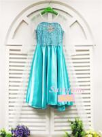 Wholesale Diamond Sleeve Dress - kid Long Sleeve frozen child Cloak Dresses Frozen Kids Clothing Sequin Diamond Anna Elsa Princess Dress girl Tulle Dress