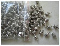 Wholesale Spiked Track Shoes - Steel Sports Running Shoes Spike Nail Studs Tack For Rubber Running Tracks 1.2cm 200pcs
