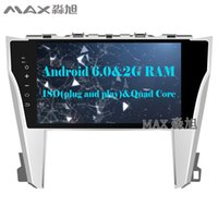 """Wholesale Car Dvd Tv Gps Camry - HD 10.1"""" 2G+16G Android 6.0 Car DVD Player for Toyota Camry 55 2015 2016 2017 with 1024*600 Radio BT WIFI SWC GPS"""