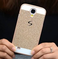 Wholesale S4 Case Free Dhl - S Luxury Bling Phone Case Hard PC Cover for Samsung Galaxy S6 Edge S5 S4 Note 5 4 3 2 DHL free