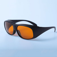 lazerli ışıklı ipl toptan satış-Yüksek kaliteli profesyonel CE göz koruyucu güvenlik doktoru gözlük gözlük ipl shr e-ışık lazer tedavisi için