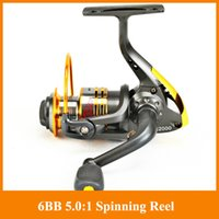 Wholesale Penn Reels Spinning - Free shipping 6BB Spinning Fishing reel NT2000 best fishing reel Banax Coil equipment for fishing tackle Penn