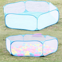Wholesale Kids Play Game House tent Pool Children Tent Ocean Ball Pool baby educational Toys Outdoor Fun Sports Lawn Game