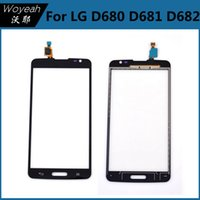 Wholesale Cheap Lg Screen - Lite For LG D680 D682 Glaslinse Touchscreen-pane Digitizer Cell Phone Parts Cheap Price Black Color Accessories