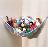 Wholesale deluxe hammock resale online - 2015 new Large JUMBO Deluxe Pet Organize Corner Stuffed Animals Toys Toy Hammock tinyaa