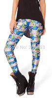 Wholesale Adventures Time - w1023 sexy leggings Adventure time fashion Adventure time digital printing seamless leggings pant