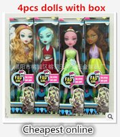 Fashion Dolls New Arrive 4 Style Classic Toys For Girl Birthday Christmas Gift Frete Grátis Monster Toys High Dolls