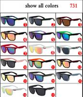 çeşitli stiller toptan satış-731 moda spor güneş gözlüğü sürme, kare basit modeller, moda yüksek kaliteli güneş gözlüğü toptan stilleri çeşitli