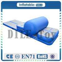 Wholesale A Set pieces Of Mini Inflatable Air Track Gym Air Tumble Track Mat For Gym Gymnastics