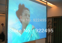 Wholesale Clear Rear Projection Film - Wholesale-Free Shipping Low Price Wholesale Self-adhesive Clear Rear Projection Film For Holographic Display Advertisement Exhibition
