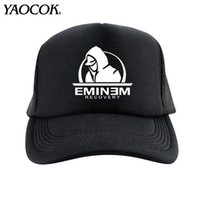 Wholesale Wide Brimmed Cooling Hats - FREE SHIPPING Wholesale Fashion Casual Hip Hop Logo Custom EMINEM Rock Band Cool Mens Knit Hats And Snapback Caps Sport Brand Winter