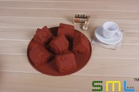 Wholesale Silicone Handmade Soap Eu - Silicone cake molds wholesale 6 lattices small house bread pudding dessert molds DIY baking molds Handmade soap moulds #RH46