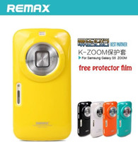 Wholesale Covers Galaxy Zoom - Remax soft back skin case cover for samsung galaxy S5 ZOOM C1116 k zoom +free SP