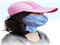 Wholesale Uv Summer Mask - Free Shipping 2015 New Free Size Spandex Breathable Summer Anti-dust masks Anti-UV anti-sun proof & gas mask,100pcs lot