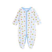 Wholesale Strat Necks - Baby Romper Unisex Winter Strat Printed New Born Baby Clothing