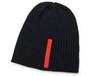 homens inverno chapéus moda venda por atacado-Atacado-2015 Outono Chapéus de Inverno para mulheres dos homens Marca Designer de Moda Gorros Skullies Chapeu Caps Cotton Gorros Toucas De Inverno Macka
