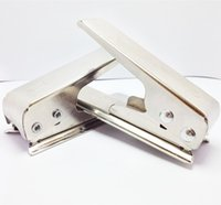стандартный резак для сим-карт оптовых-Nano SIM-карты резак для iPhone 5 6 Plus iPad Mini Simcard Cutter вырезать любой GSM Sim в Nano или любой стандартный Micro Sim в Nano Sim