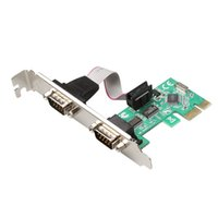 Wholesale Pcie Port Serial Card - PCI-E serial card pcie PCI Express RS232 interface industrial expansion ports PCI E to RS232 port add on cards