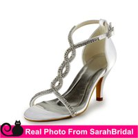 Wholesale Sexy Shoes For Ladies - Paillette Strappy Wedding Bridal Dance Dress Shoes For Womens Evening Prom Party Fashion Sexy High Heels Ladies Casual Office Pumps Sandals