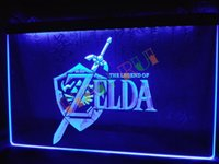 Wholesale Video Sign - LH040-b Legend of Zelda Video Game Neon Light Sign home decor shop crafts led sign.jpgl, Free Shipping, Wholesale.jpg