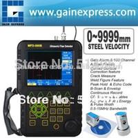 Wholesale Digital Ultrasonic Flaw Detector - MFD500B Mitech Digital Ultrasonic Flaw Detector Defectoscope DAC AVR 0-9999mm Steel Velocity Range 5-15MHz Bandwidth