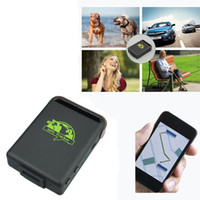 Wholesale gps gsm gprs tracking system - RealTime GPS Tracker GSM GPRS System Personal Vehicle Tracking Device TK102 Mini Spy Vehicle Tracking Device