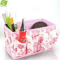 Wholesale Multi Function Storage Bag Organizer For Cosmetic Underwear Etc Table Storage Box Non Woven Storage Container dandys