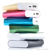 ipad banco de potencia portátil externo al por mayor-Cargadores del teléfono cargador portátil de batería externa cargador de reserva poderes celular banco de la energía 10400mAh para HTC Samsung del iPad del iPhone