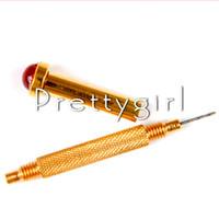 Wholesale Drill Uv - Wholesale-1 x Hot Hand Drill Dangle Pierce Piercing Nail Art UV Gel Acrylic Tips Tool