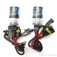 Wholesale xenon h1 55w bulb online - 2pcs W H1 Xenon Replacement Bulbs Lights Lamp K K K K K K K K K DC V Car Headlights