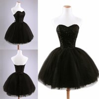Wholesale Short Beaded After Dresses - Cheap Fluffy Short Prom Dresses 2015 Sweetheart Corset Ball Gowns Homecoming Dress Beaded Lace After Reception Dresses for Wedding Events