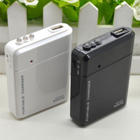 USB Emergency Portable 4 AA Battery Power Charger para Android Cell Phone iPhone
