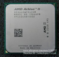 Procesador AMD Athlon II X4 640 (3.0 GHz / 2MB / Socket AM3) CPU de piezas dispersas de cuatro núcleos