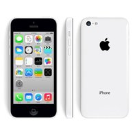 Original remis à neuf Apple iPhone 5C Unlocked Mobile Phone 3G WCDMA 16 Go 32 Go Dual Core IOS 8 Retina 1 Go 8MP GPS Smartphone DHL 002849