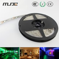 Wholesale Warmer Display - 12V 24V flexible car strip led Tape Light Nonwaterproof rgb 5050 60LEDs M for car display wedding party hotel decor