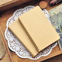 Wholesale Schedule Book - Wholesale- Hot Sale Japanese Simple Vintage Retro Style Time Schedule Pocket Book Notebook 8.6*14.8cm School Supplies Memo Message Book