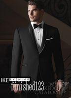 Wholesale Popular Girdles - Popular One Button Black Groom Tuxedos Shawl Lapel Groomsmen Best Man Wedding Prom Dinner Suits (Jacket+Pants+Girdle+Tie) G5206